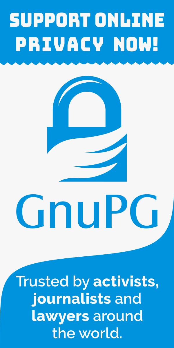 Dona a GnuPG